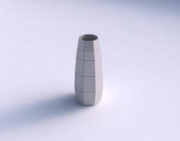 vase bullet with large plates 3d print model
