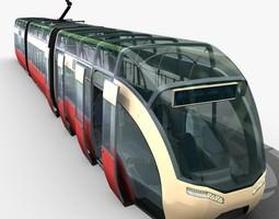 3D Concept Tram