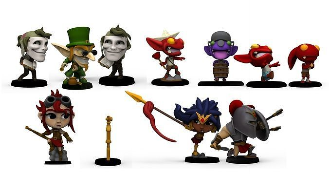 Chibi Legends expansion 1 HEROES
