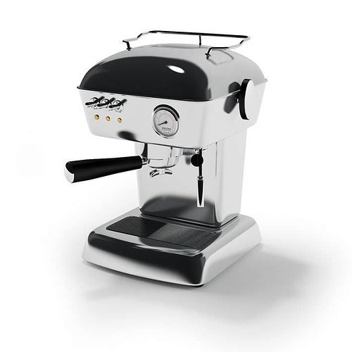 high resolution espresso machine 3d model obj mtl 1