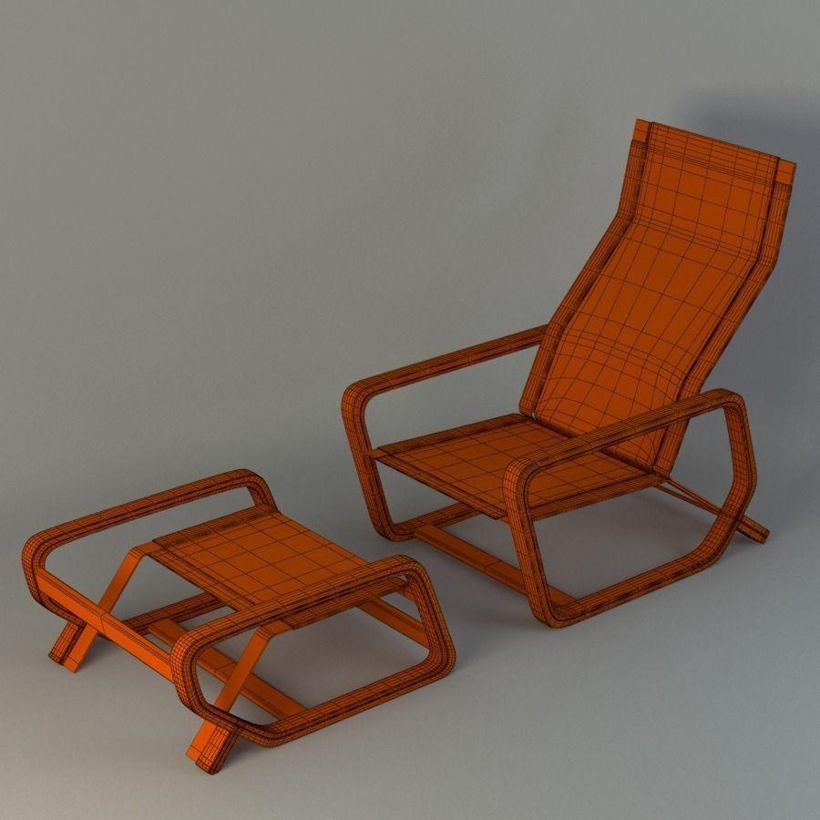 Toro Lounge Chair 3D Model MAX OBJ FBX MA MB