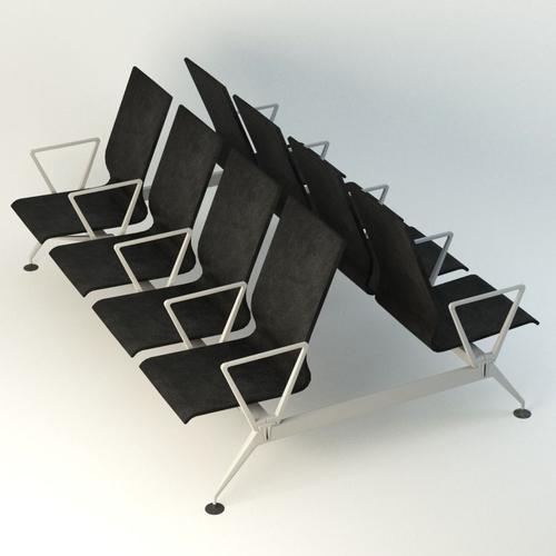 airports  transportation chair 3d model max obj mtl fbx ma mb 1
