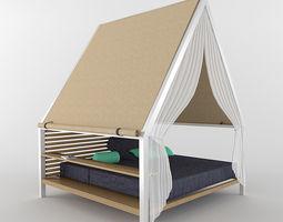 3D Pergola Garden furniture collection