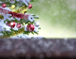 3d falling snow animation animated