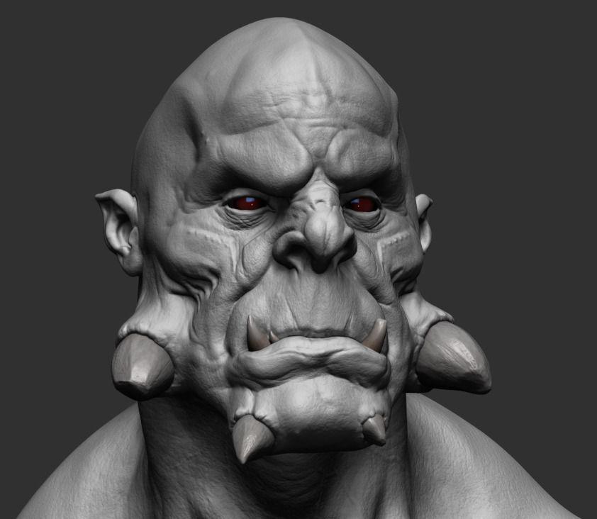 Ds Monster 3d Model Obj Ztl
