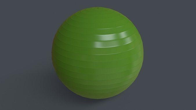 PBR Yoga Ball - Green