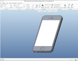 iPhone SE - original dimensions 3D