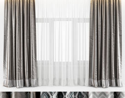 silk 3D CURTAINS SILK