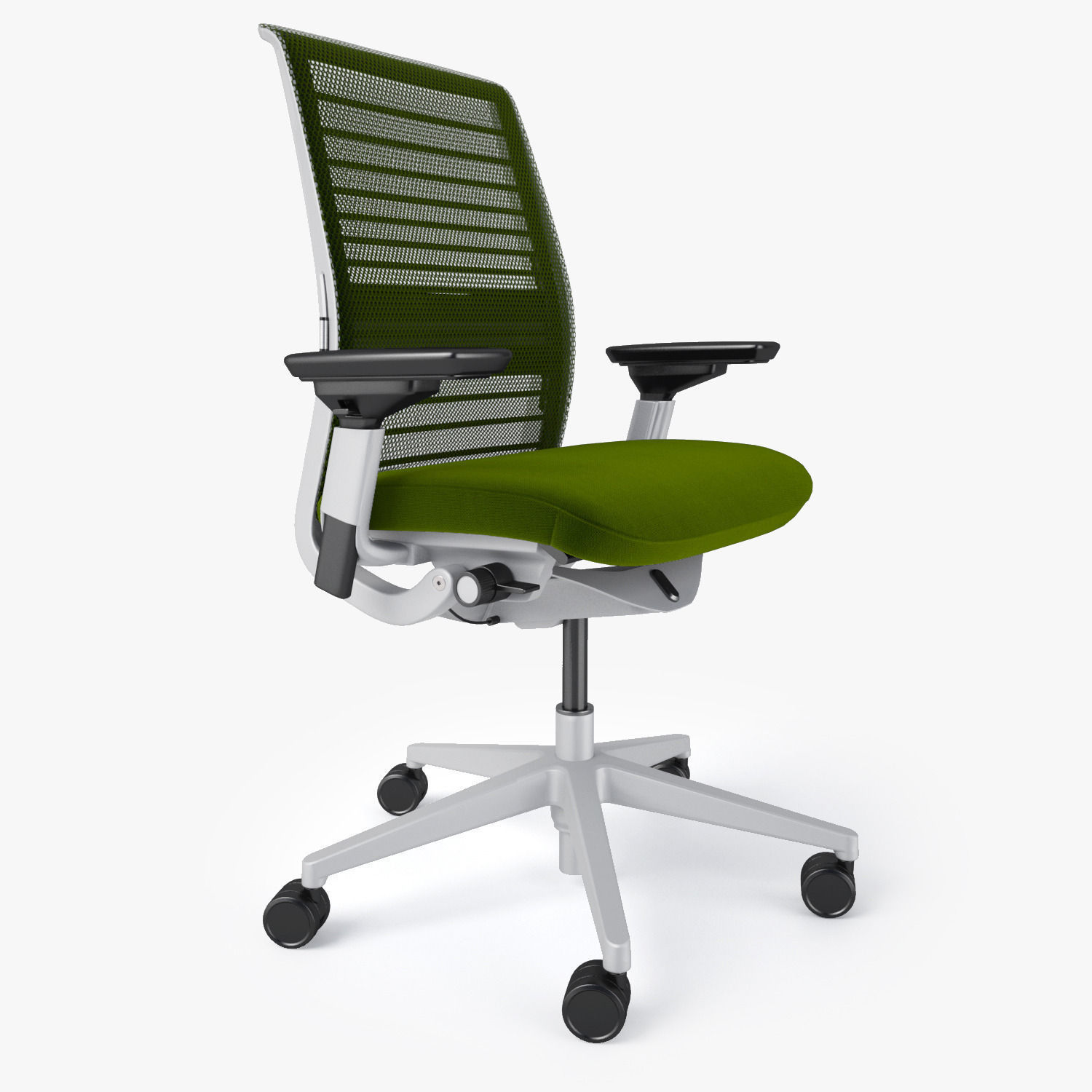 Steelcase think office chair 3d model max obj fbx mtl for Steelcase chairs