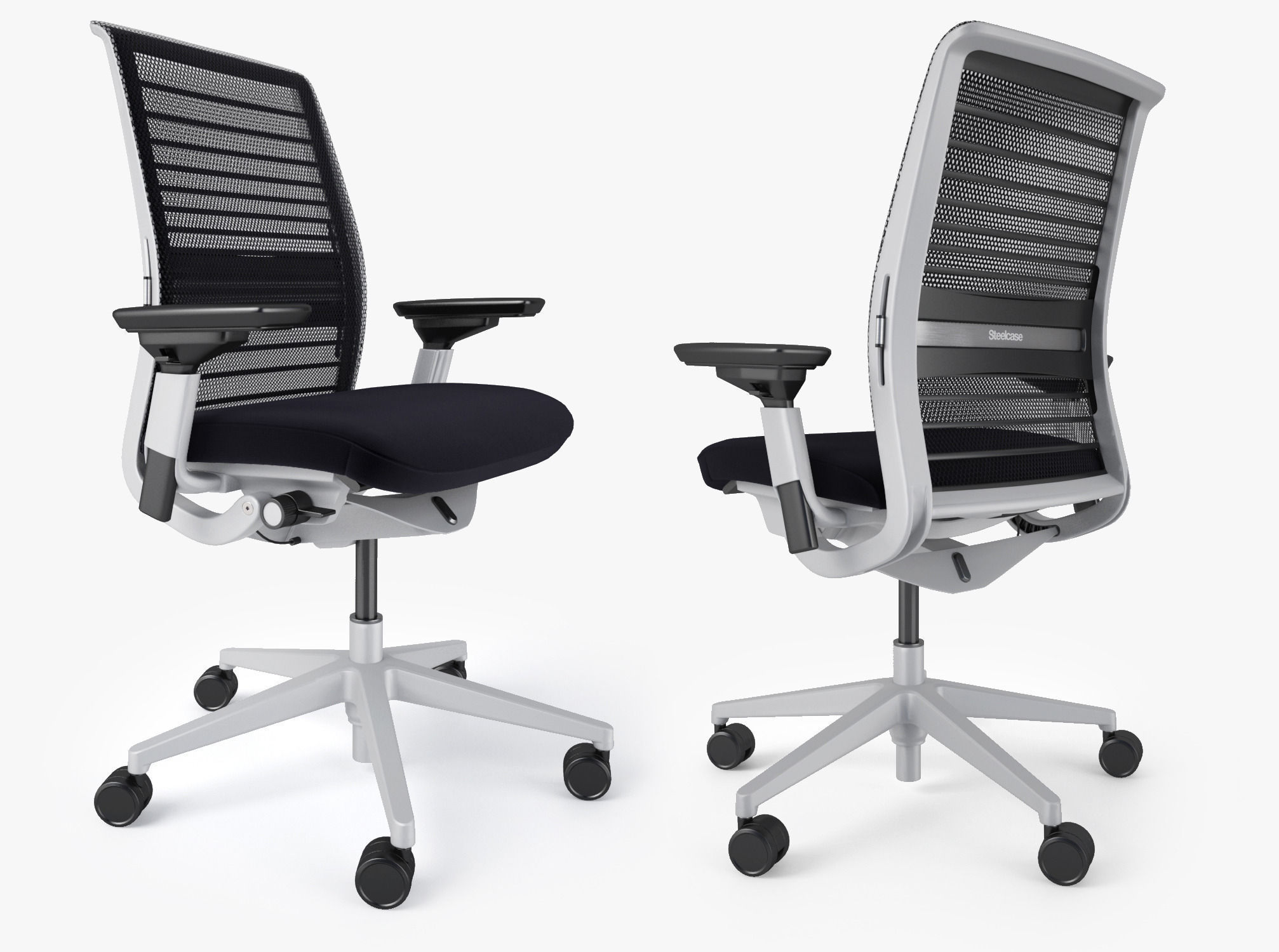 Steelcase Think Office Chair  47D model