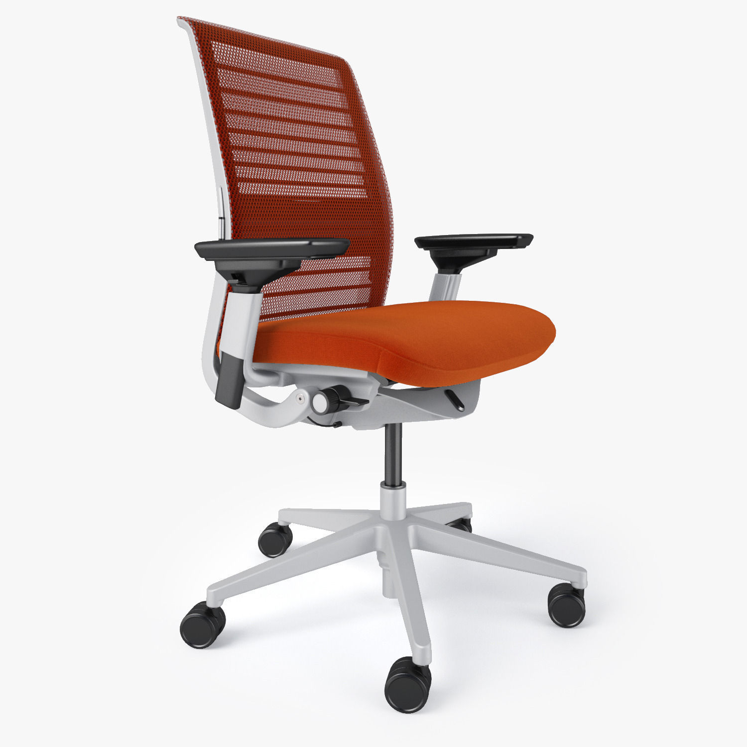 Steelcase think office chair 3d model max obj fbx mtl for Model furniture
