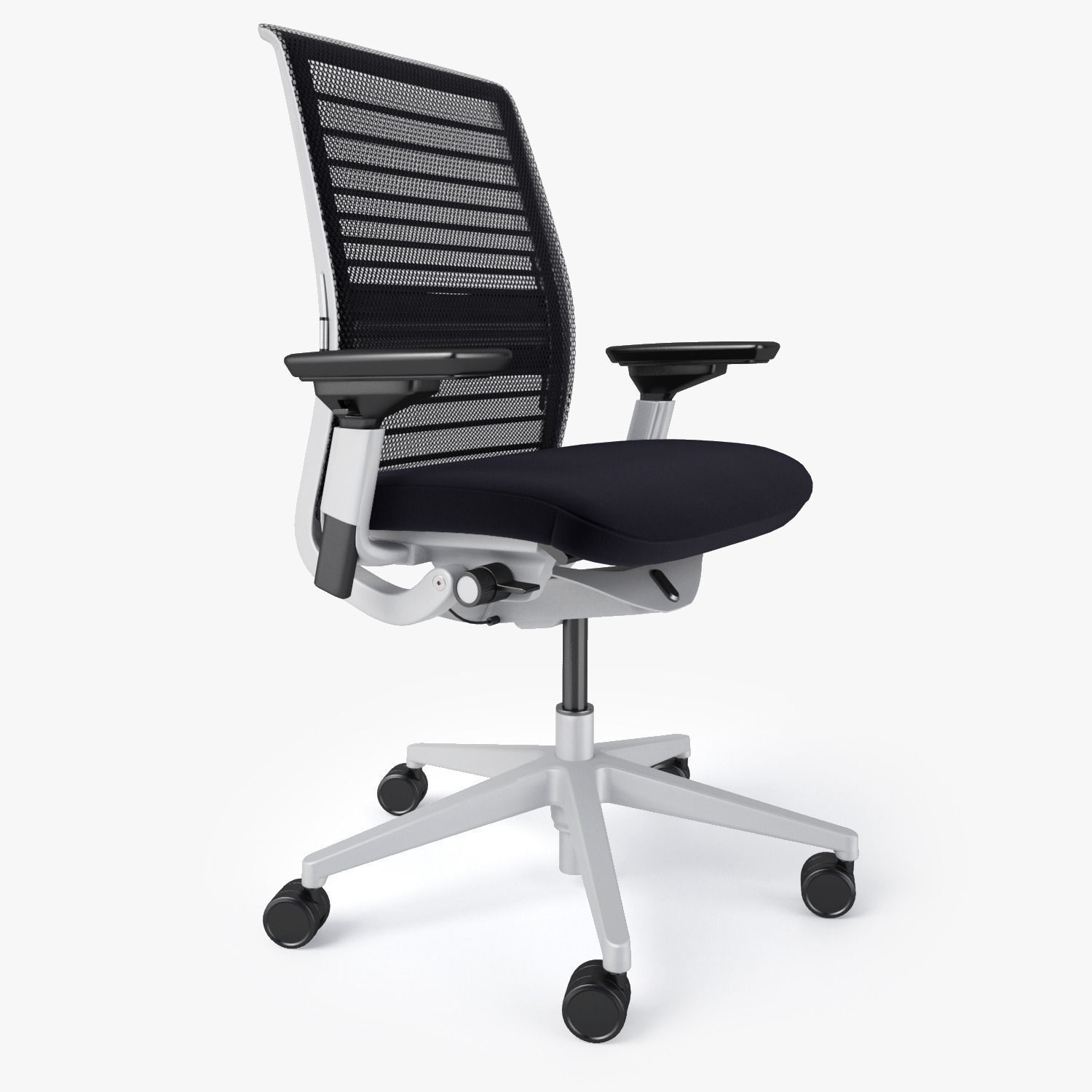 steelcase think office chair 3d model max obj fbx mtl 2 - Steelcase Chairs