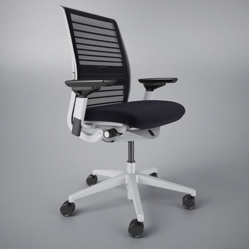 htm chair p steelcase thinkcocomesh coconut mesh back think refurbished