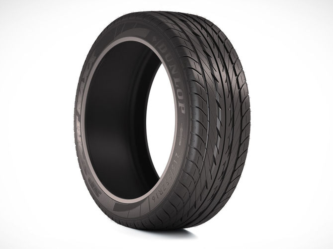 photorealistic car tire  3d model max obj mtl fbx 1