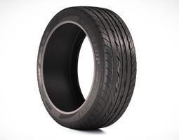 photorealistic car tire  3d model max obj fbx