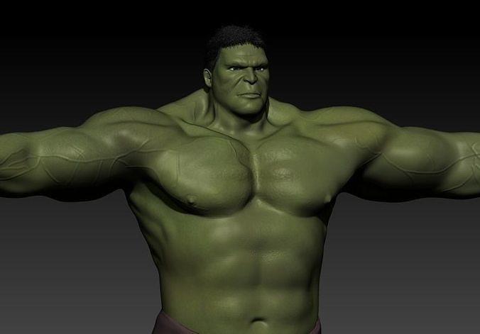 The incredible hulk 3d moding for game