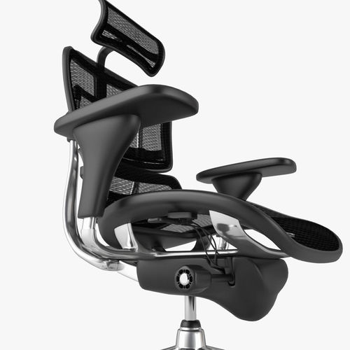 ... raynor ergohuman chair 3d model max obj fbx mtl 6 ... & 3D model Raynor Ergohuman Chair | CGTrader