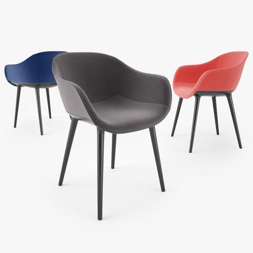 magis design cyborg lady chair 3d model max obj mtl fbx 1