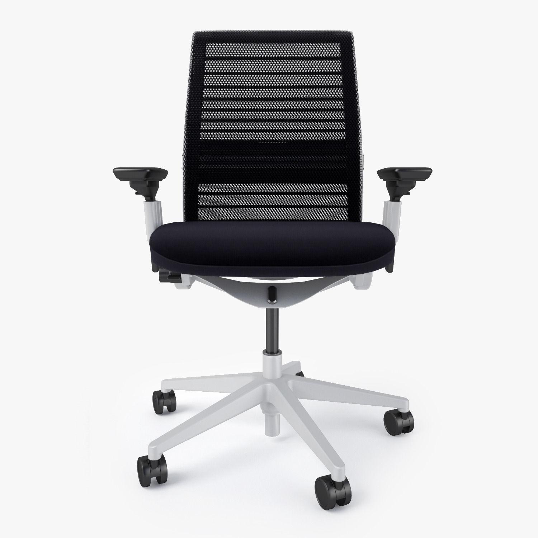 Steelcase think chair -  Steelcase Think Chair 3d Model Max Obj Fbx Mtl 6