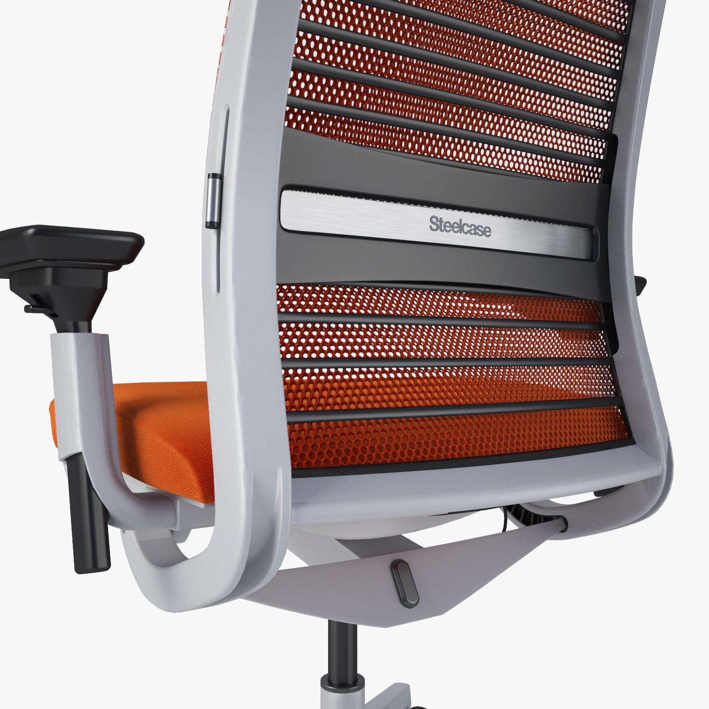 Steelcase think chair -  Steelcase Think Chair 3d Model Max Obj Fbx Mtl 13