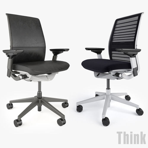 back adjustable knit arms product chair think steelcase way