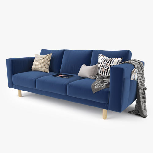 ... Modern Sofa Set 01 3d Model Max Obj Fbx Mtl 2 ...