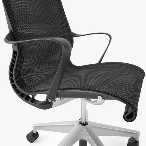 Herman Miller Setu Office Chair 3D model MAX OBJ FBX MTL