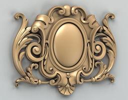 Cartouche 003 3D model