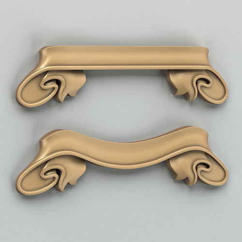 decorative ribbon 001 3d model max obj mtl fbx stl 1