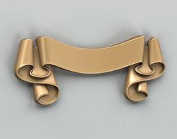 3D model Decorative Ribbon 007