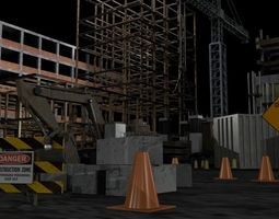 Construction Collection Set 3D