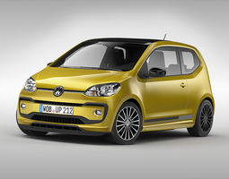 volkswagen up 2017 3d