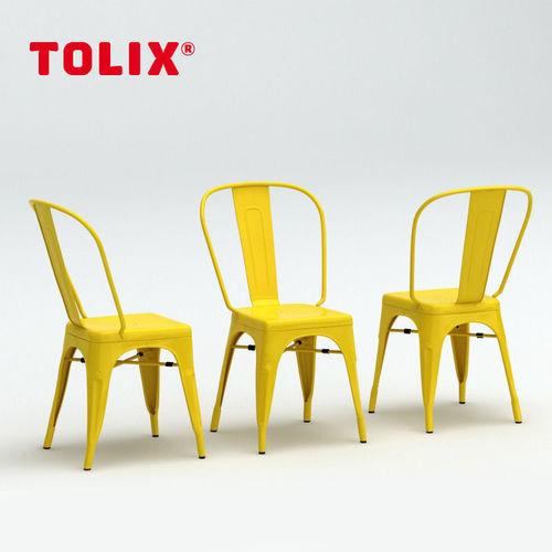 Tolix Chaise A 3d Model Max Obj Mtl 1