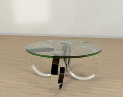 Circle Table 3D model