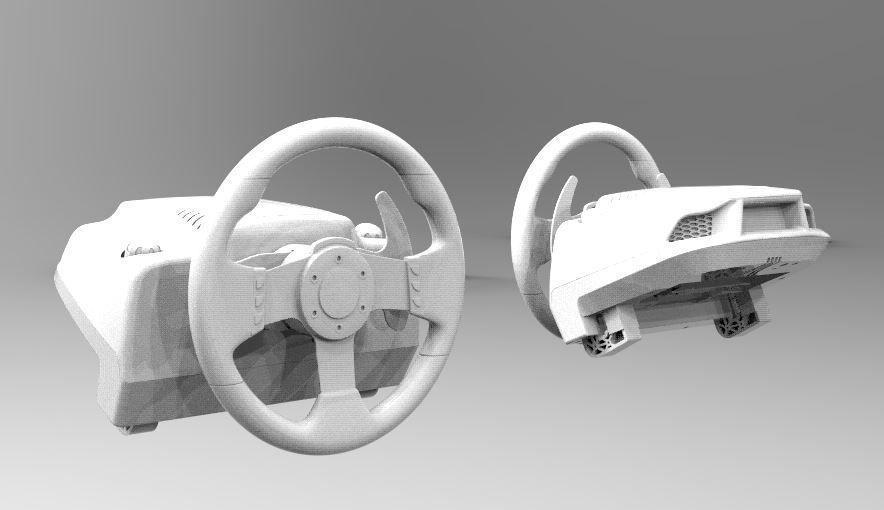 LOGITECH G27 STEERING spare parts printable | 3D Print Model