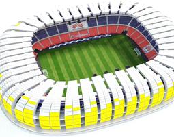 3D model Stadium arenas