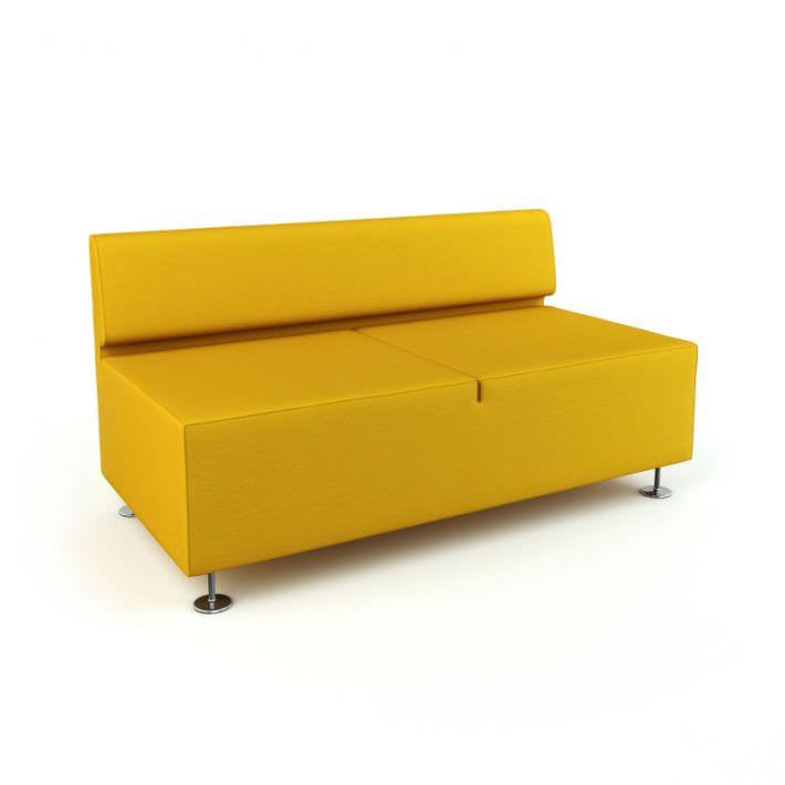 Modern Yellow Sofa | 3D model