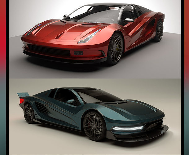 Two Concepts Car