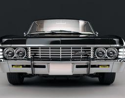 Chevrolet Impala SS 1967 3D Model