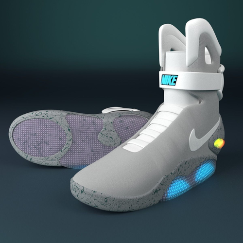 nike shoes 12 sided 3d object 881871