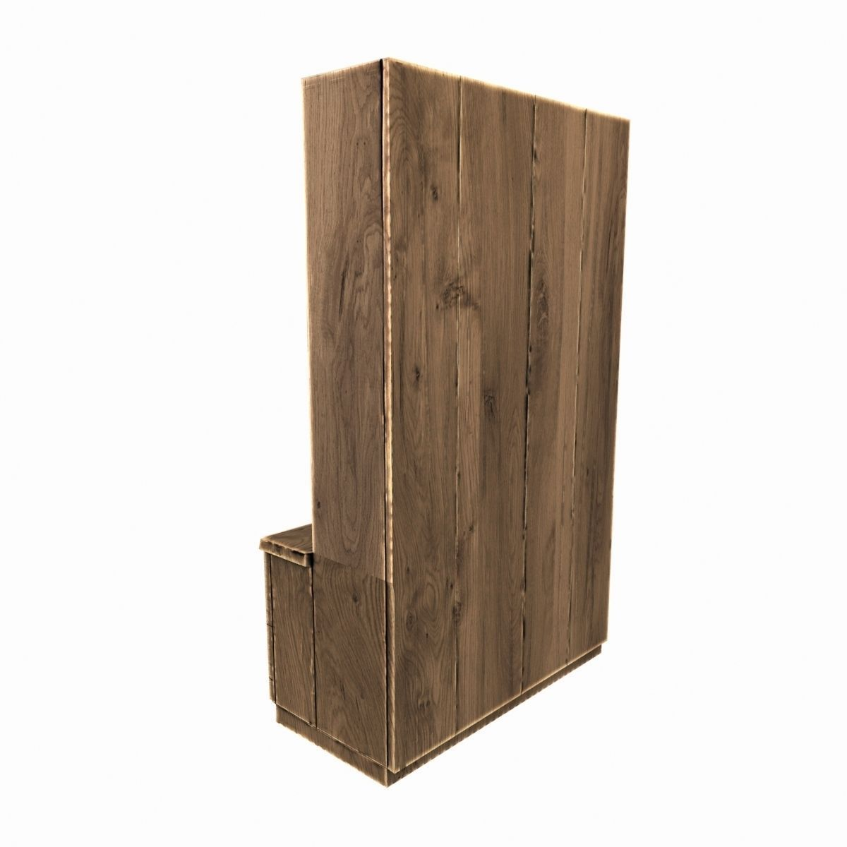old wooden cupboard 3d model cgtrader