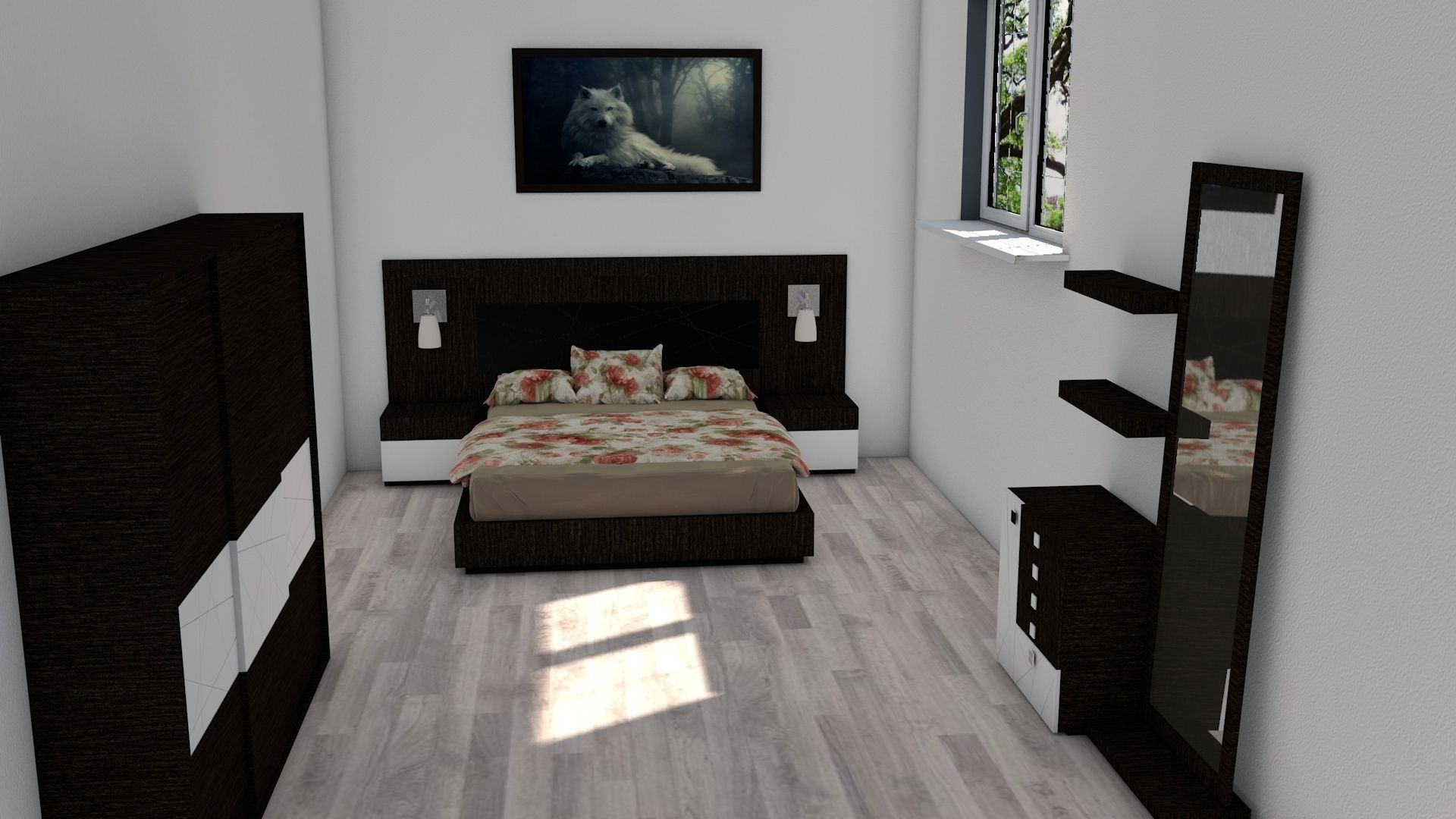 ... Modern House   Interior   Exterior Design 3d Model C4d 7 ... Part 78