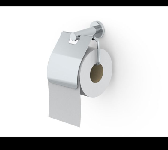 3d model toilet roll holder cgtrader
