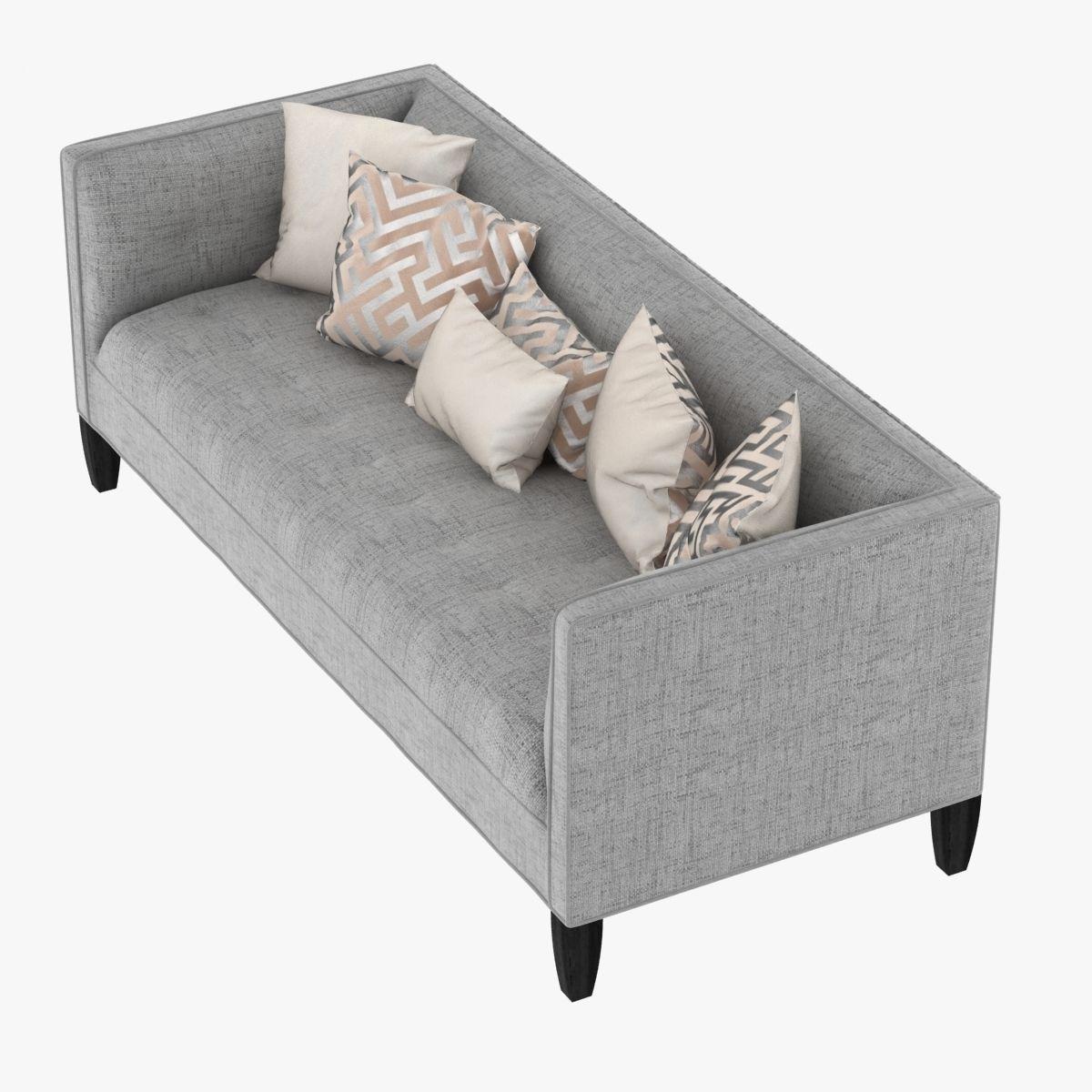 ... Mitchell Gold Bob Williams Kennedy Sofa 3d Model Max Obj 3ds Fbx Mtl ...