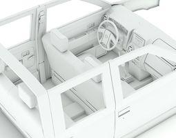 nissan interior  3d model max