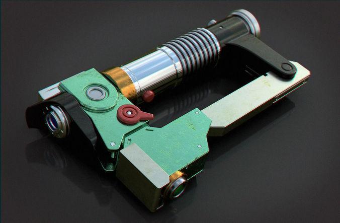 ezras lightsaber 3d model stl 1