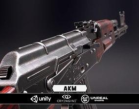 3D asset AKM - Model and Textures