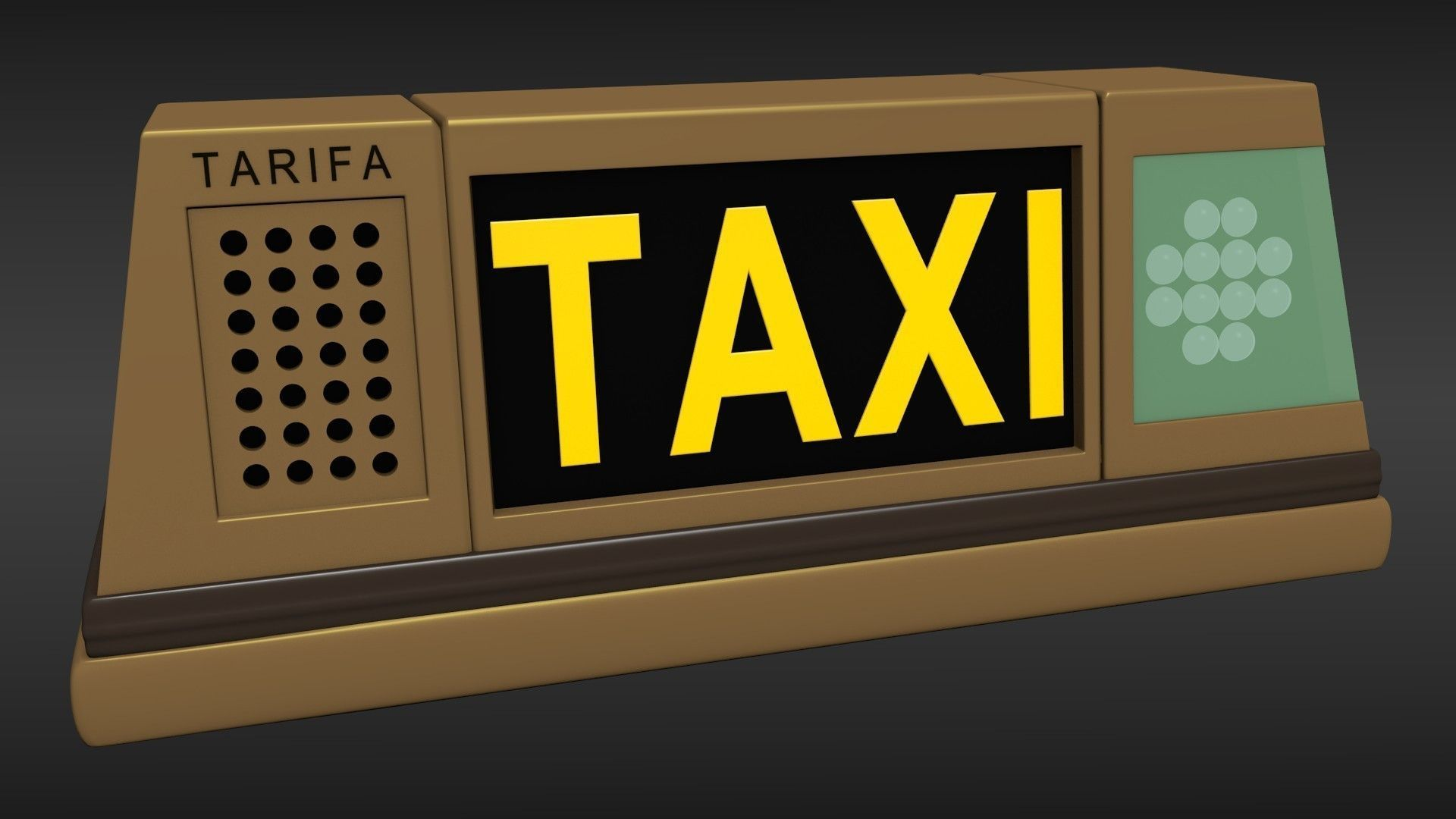 Taxi Sign Light
