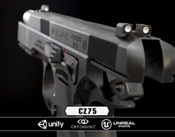 game-ready cz85 - model and textures