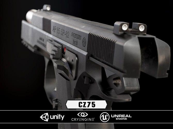 low-poly CZ85